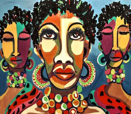African American lives depicted in art