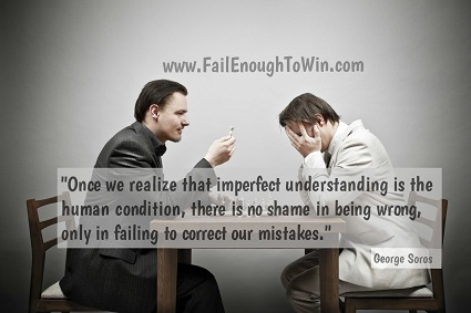 www.FailEnoughToWin.com, Learn from every fail.