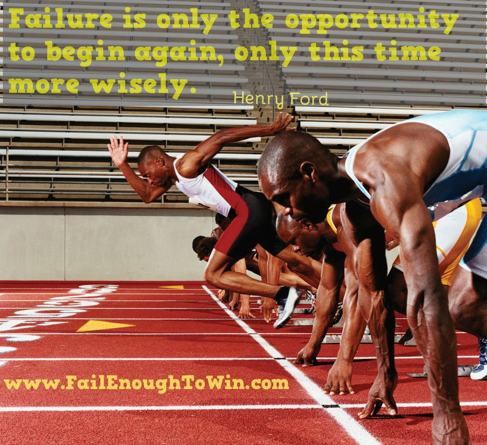 Failure is the only opportunity to try again
